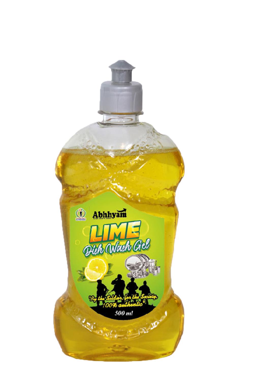 ardh sainik india dishwash gel lime 500ml